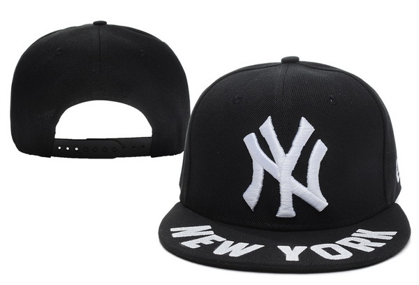 New York Yankees Black Snapback Hat XDF 2